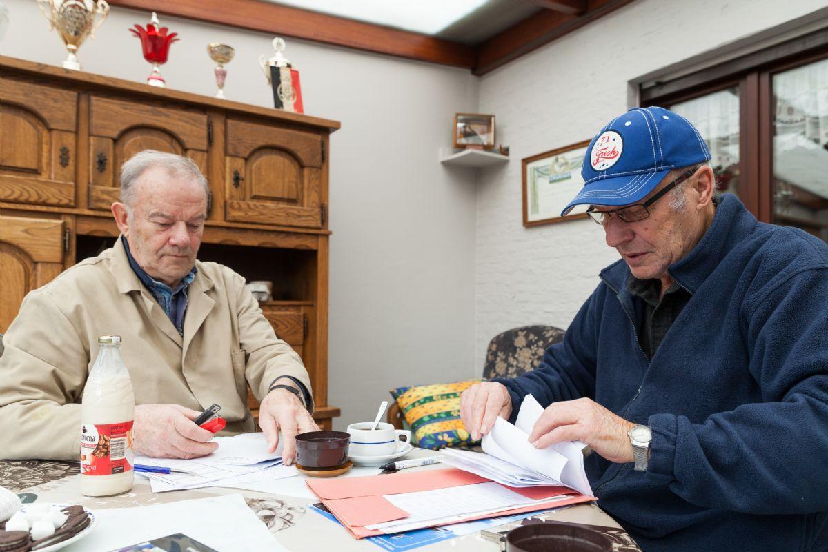 1st Sermaises 657 birds for Ad Schaerlaeckens with grandchild Indy